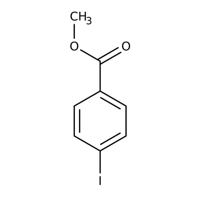 Methyl 4-iodobenzoate, 98%, Acros Organics: Halobenzoic acids and derivatives Benzoic acids and derivatives