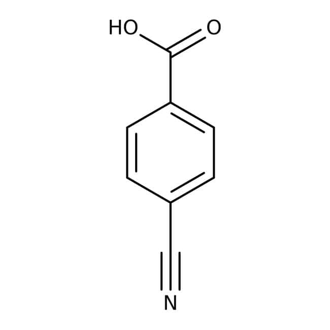4-Cyanobenzoic acid, 99%, ACROS Organics™ 5g; Glass bottle 4-Cyanobenzoic acid, 99%, ACROS Organics™