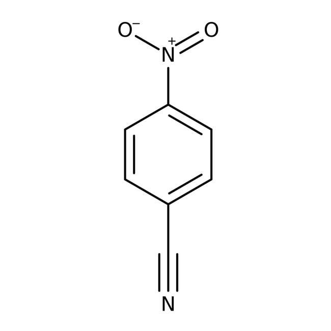 4-Nitrobenzonitrile, 97%, ACROS Organics™ 100g, Glass bottle 4-Nitrobenzonitrile, 97%, ACROS Organics™