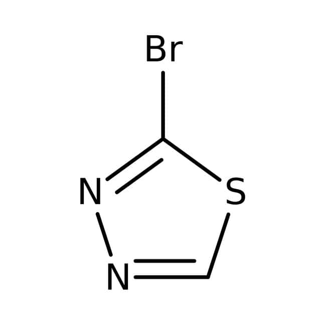2-Bromo-1,3,4-thiadiazole, 97%, Maybridge™