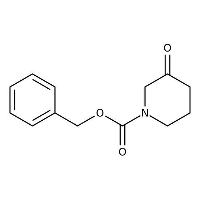 Alfa Aesar™1-Benzyloxycarbonyl-3-piperidone, ≥97% 25g Alfa Aesar™1-Benzyloxycarbonyl-3-piperidone, ≥97%