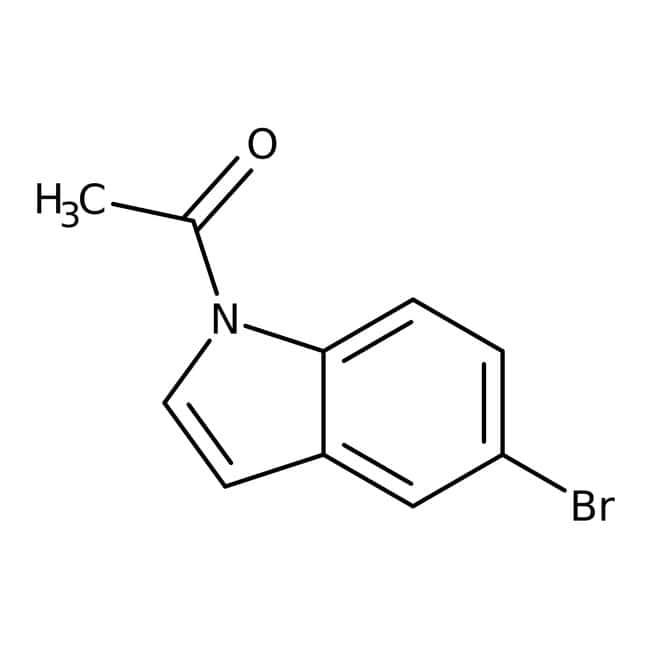Alfa Aesar™1-Acetyl-5-bromoindole, 97% 1g Alfa Aesar™1-Acetyl-5-bromoindole, 97%