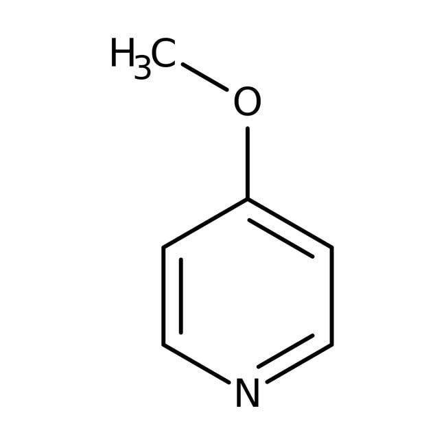 4-Methoxypyridine, 99%, ACROS Organics