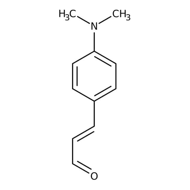 4-Dimethylaminocinnamaldehyde, 98%, ACROS Organics™