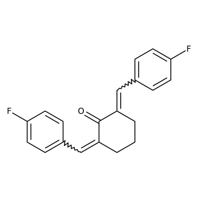 2,6-Bis(4-fluorobenzylidene)cyclohexanone 96.0+%, TCI America™