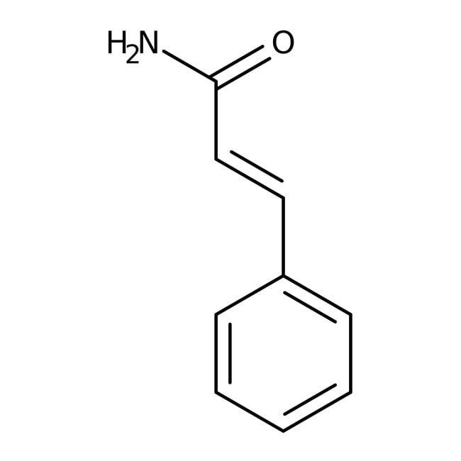 Cinnamamide, 97%, predominantly trans, ACROS Organics™ 5g; Glass bottle Cinnamamide, 97%, predominantly trans, ACROS Organics™