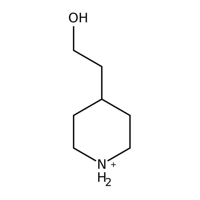 4-Piperidineethanol, 97%, ACROS Organics™