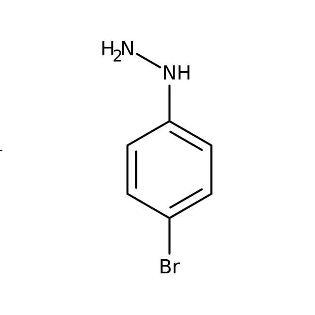 4-Bromophenylhydrazine Hydrochloride 98.0 %, TCI America