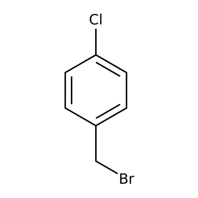 4-Chlorobenzyl bromide, 98%, ACROS Organics™ 5g; Glass bottle 4-Chlorobenzyl bromide, 98%, ACROS Organics™