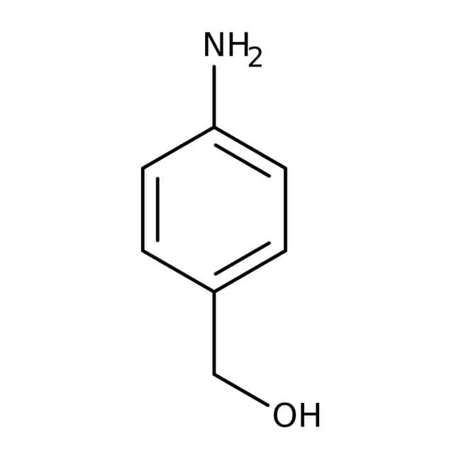 4-Aminobenzyl alcohol, 98%, ACROS Organics™: Benzene and substituted derivatives Benzenoids