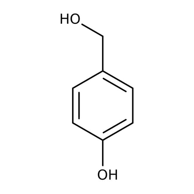 4-Hydroxybenzyl alcohol, 97%, ACROS Organics™: Benzene and substituted derivatives Benzenoids