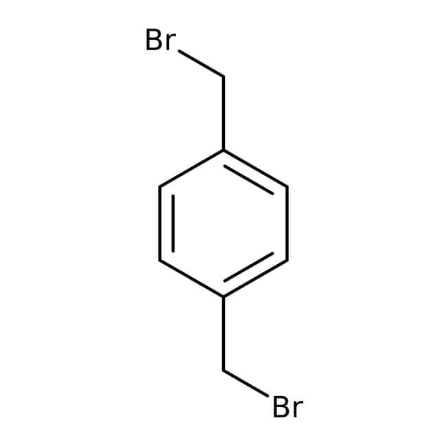 alpha,alpha'-Dibromo-p-xylene, 97%, Acros Organics: Benzyl halides Benzene and substituted derivatives