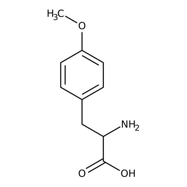 O-Methyl-L-tyrosine, 98%, ACROS Organics™ 1g; Glass bottle O-Methyl-L-tyrosine, 98%, ACROS Organics™