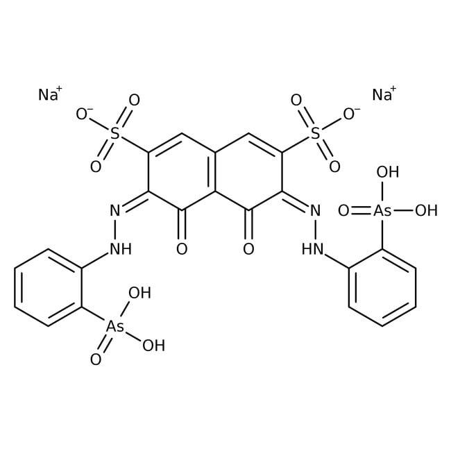 Arsenazo III Disodium Salt, Spectrum