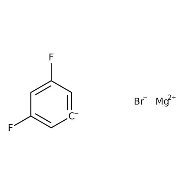 3,5-Difluorophenylmagnesium bromide, ACROS Organics™ 100mL; AcroSeal glass bottle Fluorobenzenes