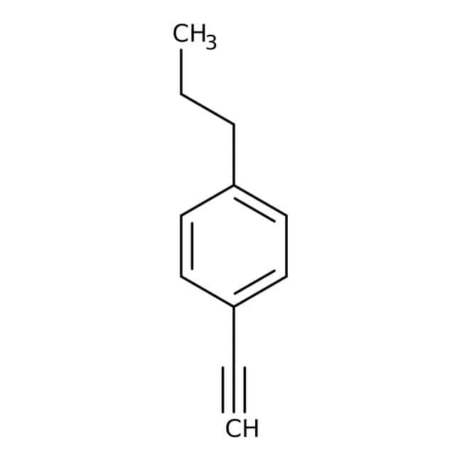 1-Eth-1-ynyl-4-propylbenzene, 97%, Maybridge