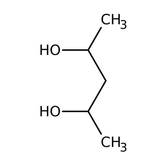 Alfa Aesar™2,4-Pentanediol, (+/-) + meso, 99%