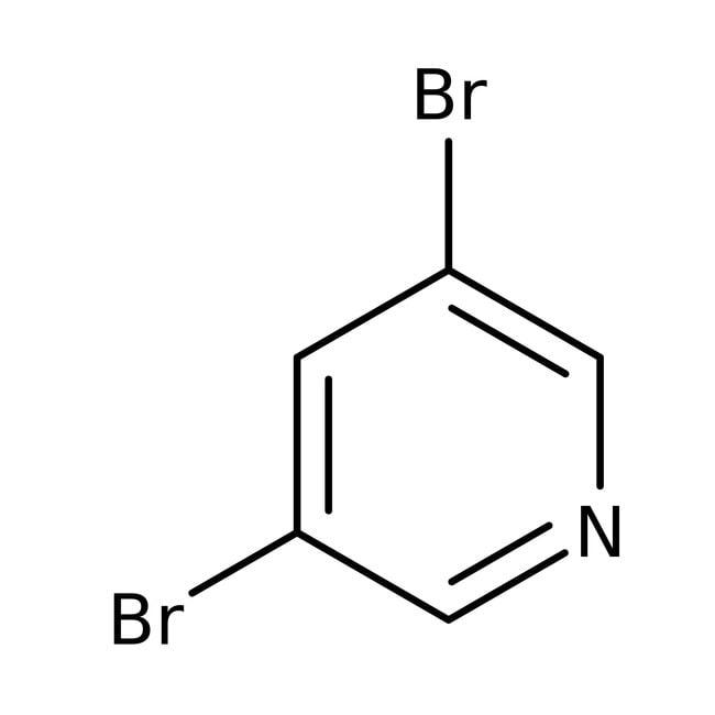 Alfa Aesar™3,5-Dibromopiridina, +98% 100g Alfa Aesar™3,5-Dibromopiridina, +98%