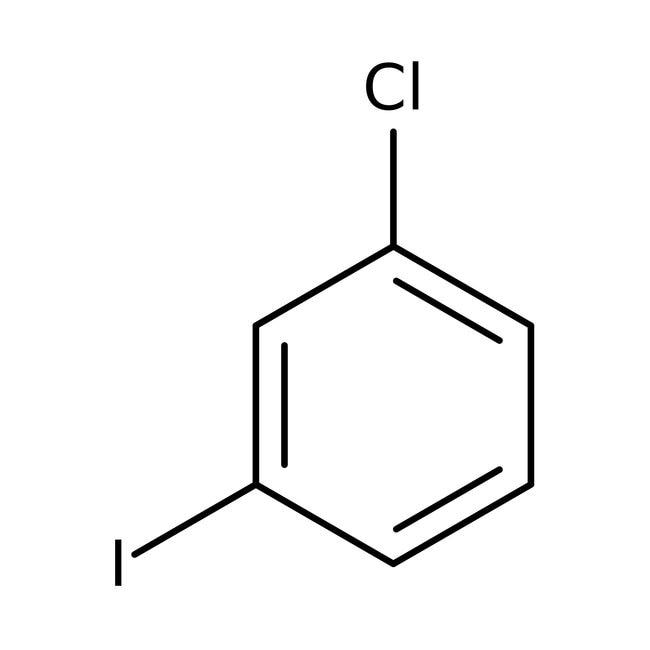 1-Chloro-3-iodobenzene, 98%, ACROS Organics™ 100g; Glass bottle 1-Chloro-3-iodobenzene, 98%, ACROS Organics™