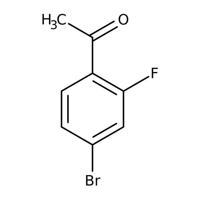 Alfa Aesar™4'-Bromo-2'-fluoroacetophenone, 96% 250mg Alfa Aesar™4'-Bromo-2'-fluoroacetophenone, 96%