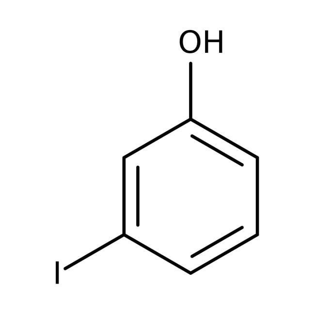 Alfa Aesar™3-Iodophenol, 98% 50g Alfa Aesar™3-Iodophenol, 98%