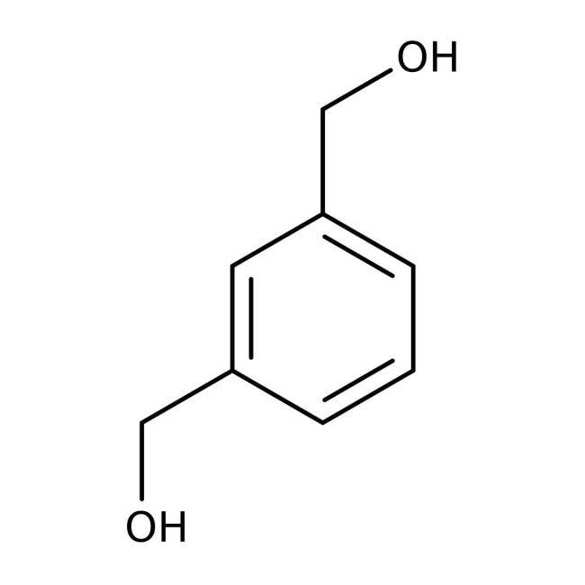 1,3-benzènediméthanol, 98%, ACROS Organics™ 2g; flacon en verre 1,3-benzènediméthanol, 98%, ACROS Organics™