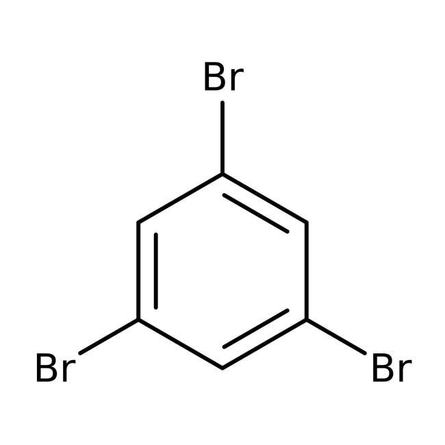 1,3,5-Tribromobenzene, 98%, ACROS Organics™ 100g; Glass bottle 1,3,5-Tribromobenzene, 98%, ACROS Organics™