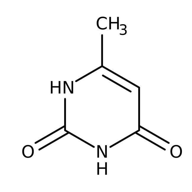 2,4-Dihydroxy-6-methylpyrimidine, 97%, ACROS Organics™ 5g; Glass bottle 2,4-Dihydroxy-6-methylpyrimidine, 97%, ACROS Organics™