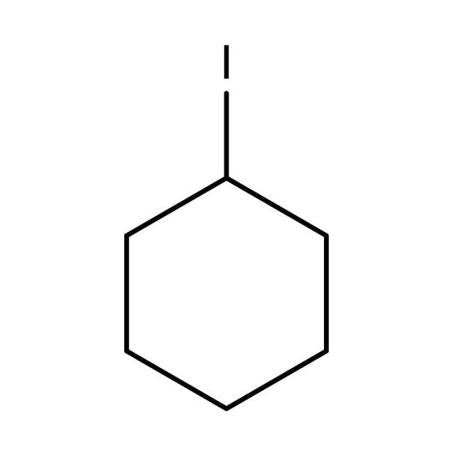 Iodocyclohexane (stabilized with Copper chip) 98.0 %, TCI America