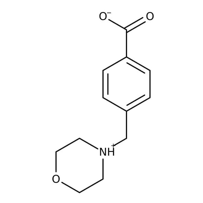 Acide 4-(Morpholinométhyl)benzoïque, Maybridge Flacon en verre ambré ; 1 g Acide 4-(Morpholinométhyl)benzoïque, Maybridge