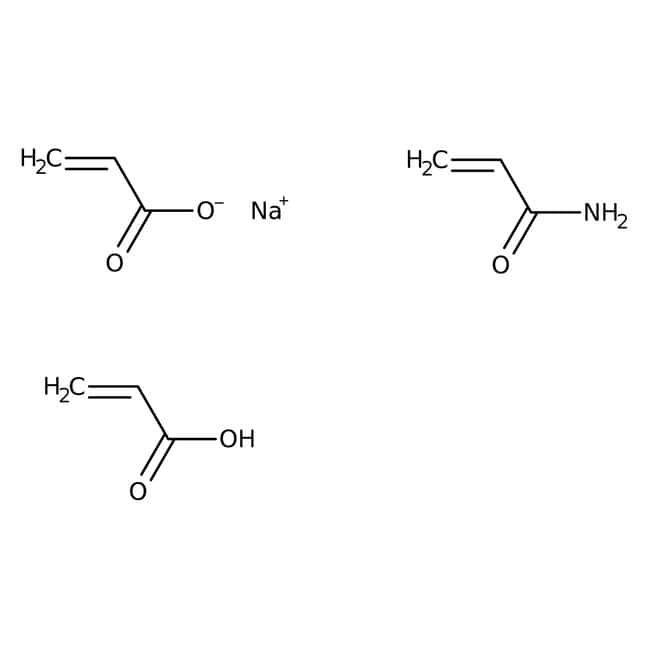 Poly(acrylamide), carboxyl modified, pure, high carboxyl content,   MW 200,000, ACROS Organics
