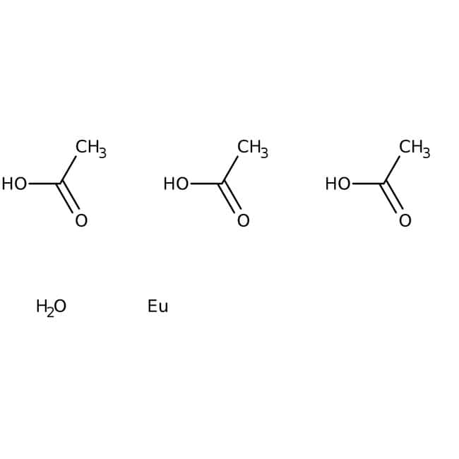 Alfa Aesar™Europium(III) acetate hydrate, REacton™, 99.999% (REO)