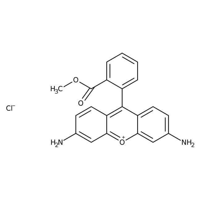 Rhodamine 123, +99%, ACROS Organics™ 500mg; Glass bottle Rhodamine 123, +99%, ACROS Organics™