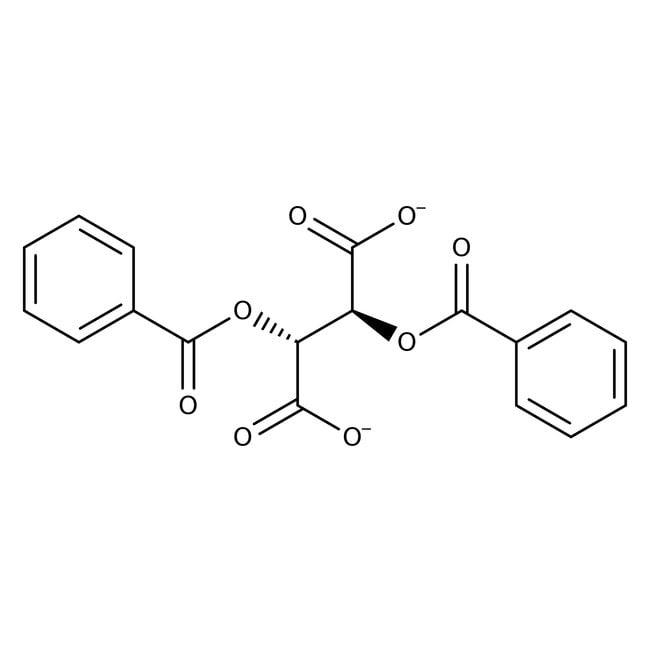 (-)-Dibenzoyl-L-tartaric acid monohydrate, 98%, ACROS Organics™ 500g; Plastic bottle (-)-Dibenzoyl-L-tartaric acid monohydrate, 98%, ACROS Organics™