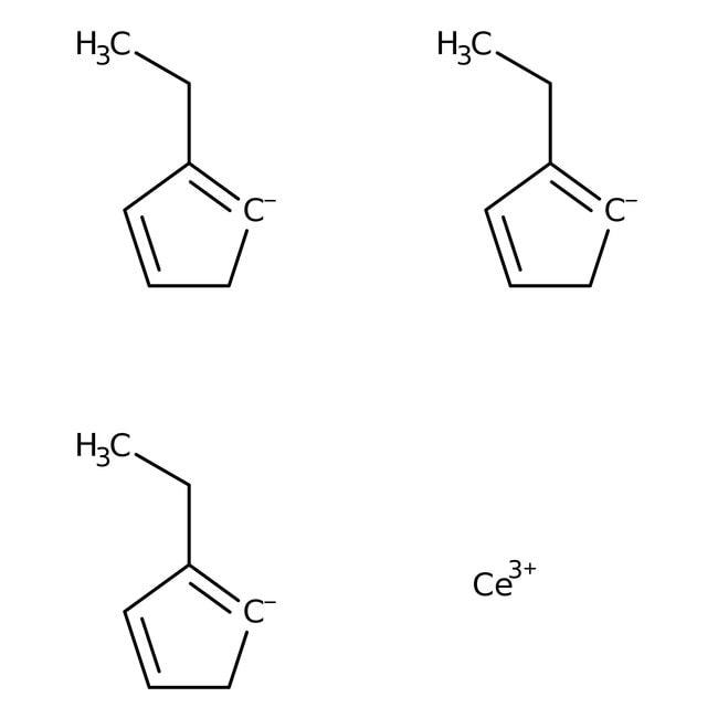 Tris(ethylcyclopentadienyl)cerium,  99%, Acros Organics