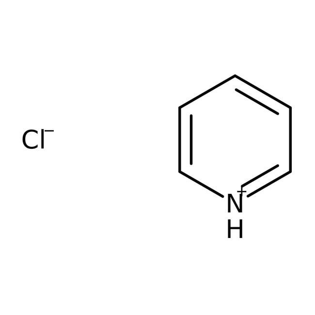 Pyridine hydrochloride, 98%, pure, ACROS Organics™ 2.5Kg; Plastic bottle Pyridine hydrochloride, 98%, pure, ACROS Organics™