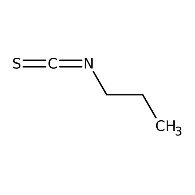 Alfa Aesar™1-Propyl isothiocyanate, 97% 5g Alfa Aesar™1-Propyl isothiocyanate, 97%