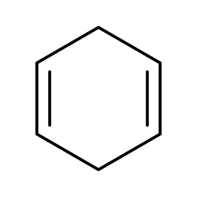Alfa Aesar™1,4-Cyclohexadiene, 97% stab. with 0.1% BHT 25g Alfa Aesar™1,4-Cyclohexadiene, 97% stab. with 0.1% BHT