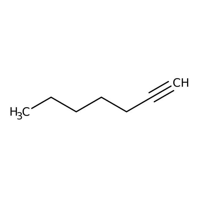 1-Heptyne, 99%, ACROS Organics™ 100mL; Glass bottle 1-Heptyne, 99%, ACROS Organics™
