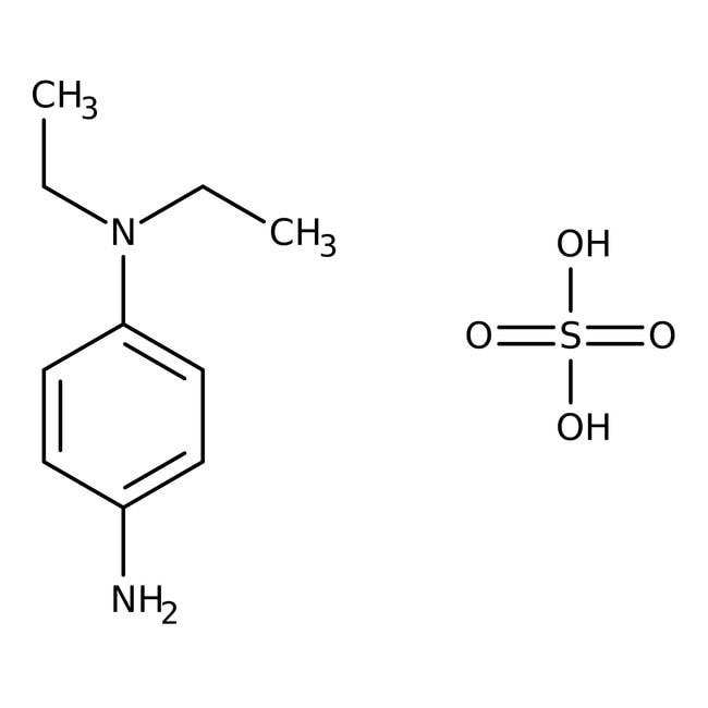 N,N-Diethyl-p-phenylenediamine sulfate, 99%, ACROS Organics™: Tertiary amines Amines