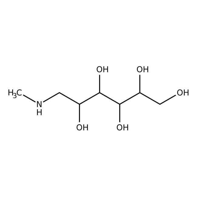 N-Methyl-D-glucamine, 99%, Acros Organics 100g N-Methyl-D-glucamine, 99%, Acros Organics
