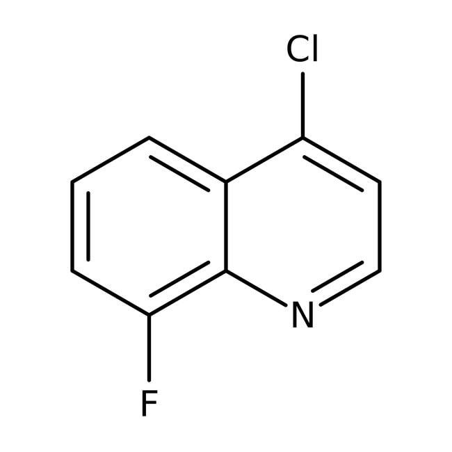Alfa Aesar™4-Chloro-8-fluoroquinoline 5g Alfa Aesar™4-Chloro-8-fluoroquinoline