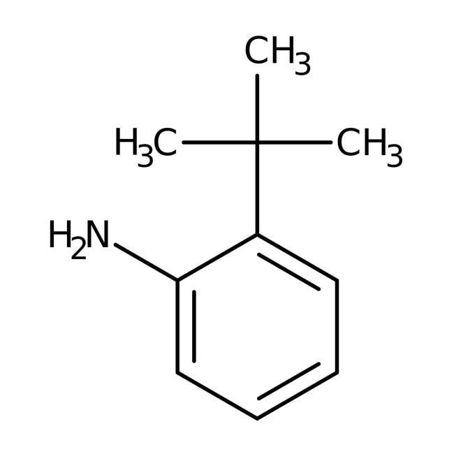 2-tert-Butylaniline, 98%, ACROS Organics™