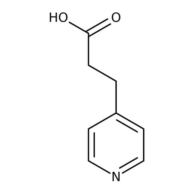 3-(4-Pyridyl)propanoic acid, 95%, ACROS Organics™ 5g 3-(4-Pyridyl)propanoic acid, 95%, ACROS Organics™