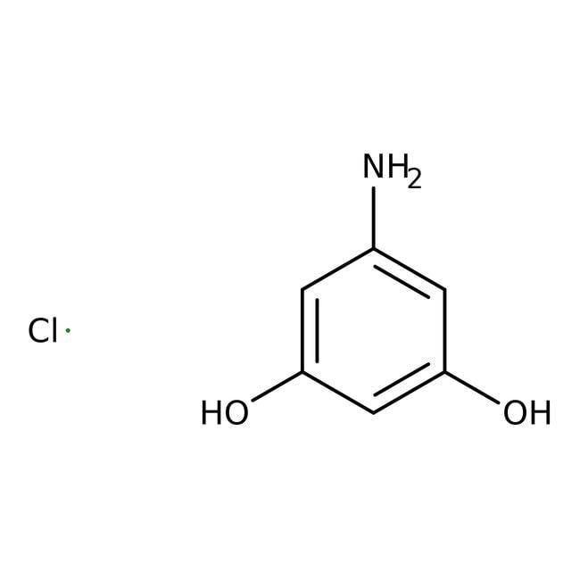 5-Aminobenzene-1,3-diol hydrochloride, Technical Grade, Maybridge 250mg 5-Aminobenzene-1,3-diol hydrochloride, Technical Grade, Maybridge