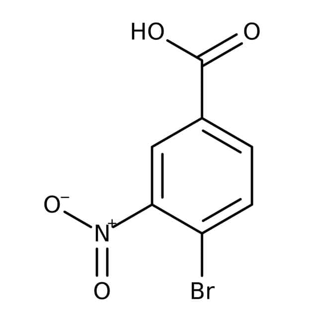 Alfa Aesar™4-Bromo-3-nitrobenzoic acid, 95% 25g Alfa Aesar™4-Bromo-3-nitrobenzoic acid, 95%
