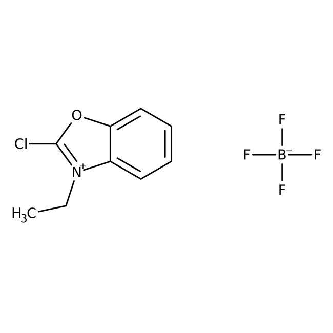 2-Chloro-3-ethylbenzoxazolium tetrafluoroborate, 97%, ACROS Organics