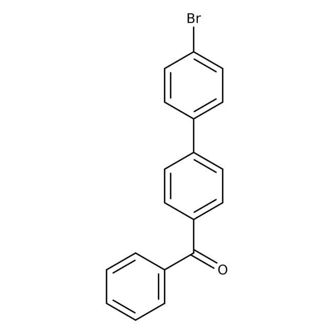 Alfa Aesar  4-Benzoyl-4'-bromobiphenyl, 99%
