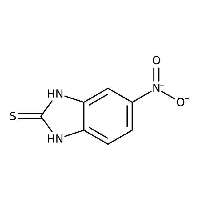 2-Mercapto-5-nitrobenzimidazole 98.0+%, TCI America™