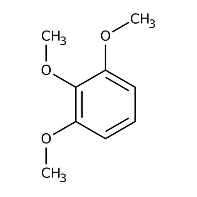 Alfa Aesar™1,2,3-Trimetoxibenceno, +98% 500g Alfa Aesar™1,2,3-Trimetoxibenceno, +98%